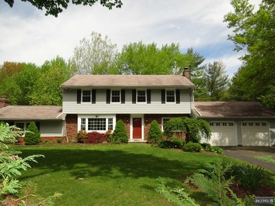 Franklin Lakes Single Family Home For Sale: 1023 High Mountain Road