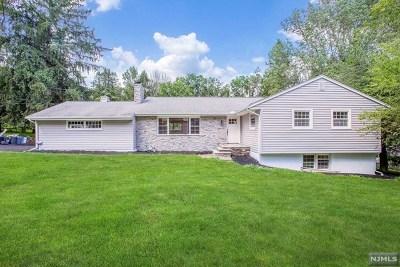 Upper Saddle River Single Family Home For Sale: 7 Cherry Lane