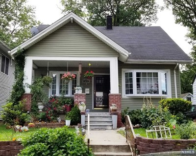 Hackensack Single Family Home For Sale: 509 West Lookout Avenue