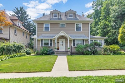 Hackensack Single Family Home For Sale: 373 Lookout Avenue