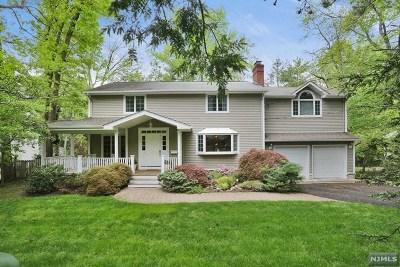 Tenafly Single Family Home For Sale: 341 Engle Street