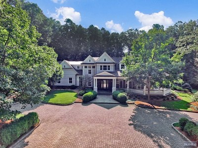 Saddle River NJ Single Family Home For Sale: $4,250,000