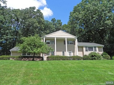 Woodcliff Lake Single Family Home For Sale: 40 Woodland Drive