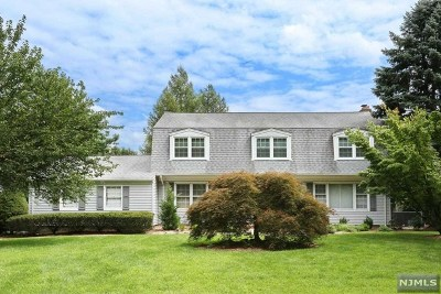 Montvale Single Family Home For Sale: 21 Old Chestnut Ridge Road