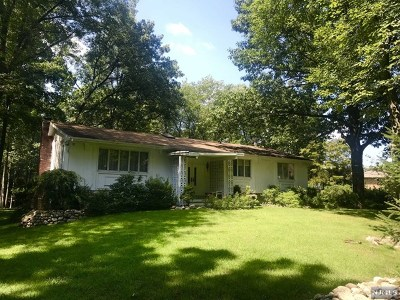 Franklin Lakes Single Family Home For Sale: 868 Meadow Lane