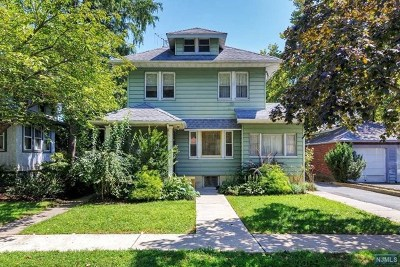 Cliffside Park Single Family Home For Sale: 6 Everett Place