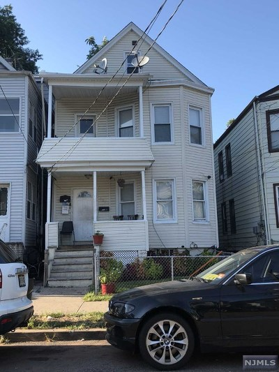Passaic Multi Family 2-4 For Sale: 292 Sherman Street