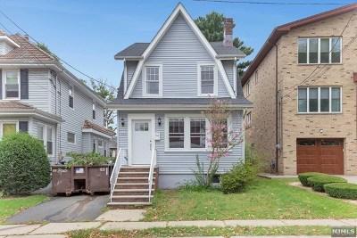 Cliffside Park Single Family Home For Sale: 548 Oregon Avenue