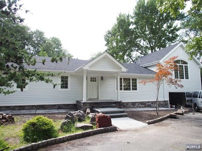 Closter Single Family Home For Sale: 40 Valley Road
