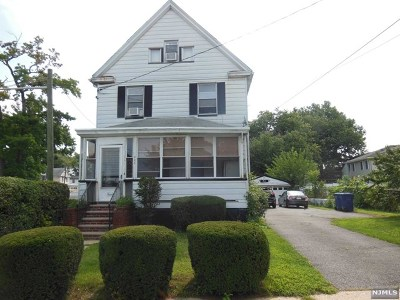 Hackensack Single Family Home For Sale: 286 1st Street