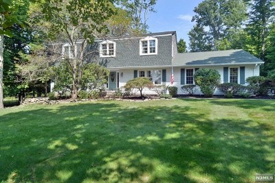 Upper Saddle River Single Family Home For Sale: 27 Blue Spruce Drive