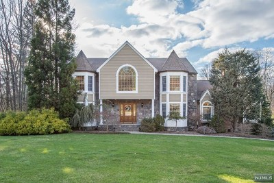 Upper Saddle River Single Family Home For Sale: 6 Strawberry Lane