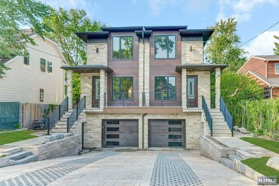 Tenafly Condo/Townhouse For Sale: 43 Columbus Drive