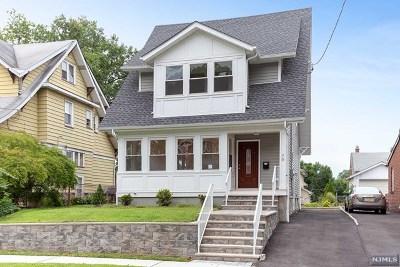Rutherford Single Family Home For Sale: 70 Carmita Avenue