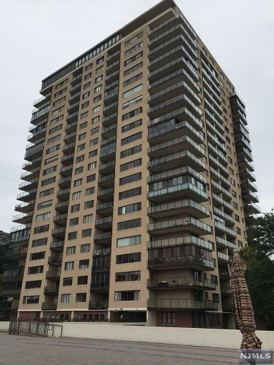 Edgewater Condo/Townhouse For Sale: 1203 River Road #7m