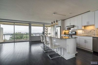 Fort Lee Condo/Townhouse For Sale: 2 Horizon Road #607