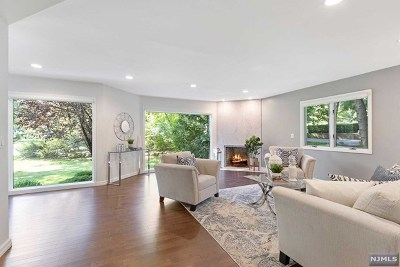 Woodcliff Lake Single Family Home For Sale: 12 Mill Road Extension