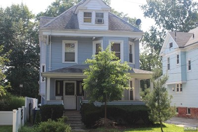 Hackensack Multi Family 2-4 For Sale: 65 Clinton Place