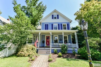 Oradell Single Family Home For Sale: 282 Maple Avenue