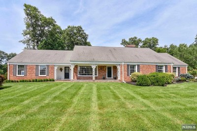 Upper Saddle River Single Family Home For Sale: 11 Shadow Road