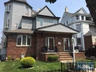 Passaic County Multi Family 2-4 For Sale: 248 Lafayette Avenue