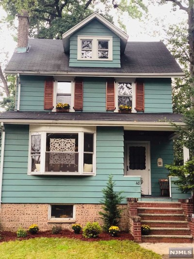 Dumont Single Family Home For Sale: 48 Randolph Avenue