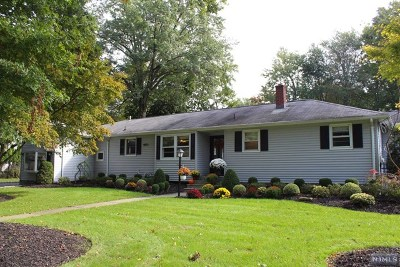 Old Tappan NJ Single Family Home For Sale: $693,999