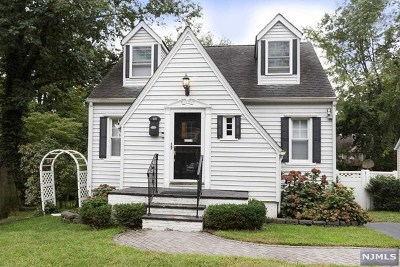 Hackensack Single Family Home For Sale: 521 West Lookout Avenue
