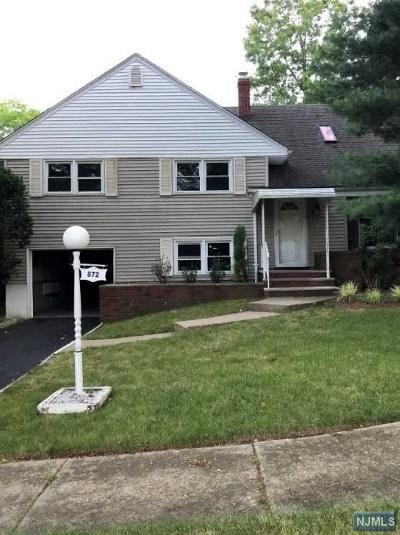 Teaneck Single Family Home For Sale: 872 Barbara Drive