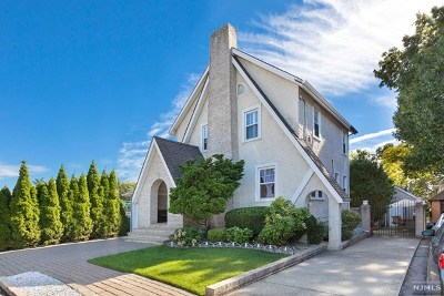 Cliffside Park Single Family Home For Sale: 18 William Terrace