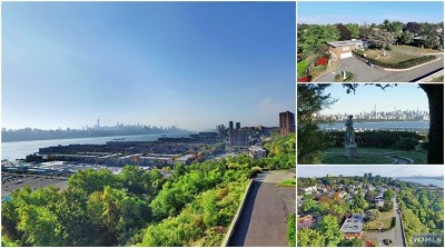 Cliffside Park Single Family Home For Sale: 371 Esplanade Place