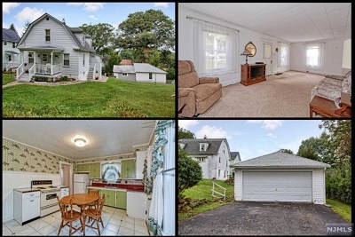 Morris County Single Family Home For Sale: 61 Boonton Street
