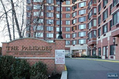 Fort Lee Condo/Townhouse For Sale: 100 Old Palisade Road #3016