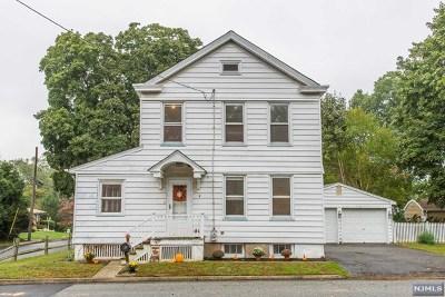 North Haledon Single Family Home For Sale: 3 Wayne Avenue