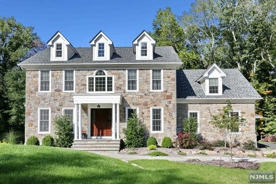 Upper Saddle River Single Family Home For Sale: 107 Lake Street