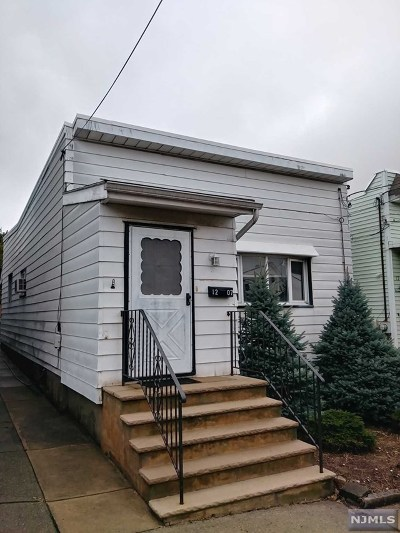 North Bergen Single Family Home For Sale: 1207 91st Street