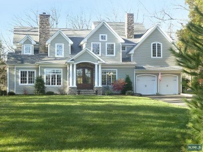 Saddle River Single Family Home For Sale: 61 Stony Ridge Road