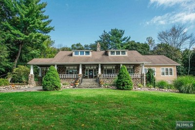 Saddle River Single Family Home For Sale: 246 East Saddle River Road