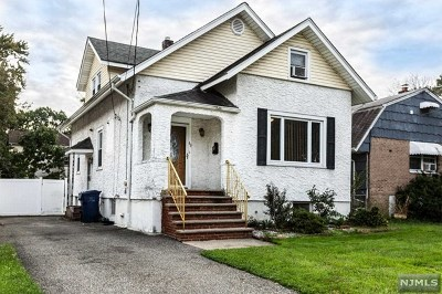 Hackensack Single Family Home For Sale: 60 Byrne Street
