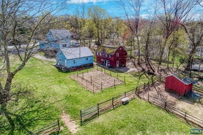Mahwah Single Family Home For Sale: 573 Wyckoff Avenue