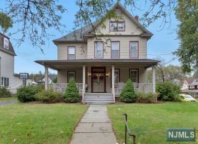 Rutherford Multi Family 2-4 For Sale: 50 Woodward Avenue