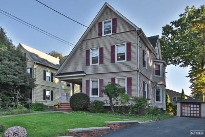 Glen Rock Single Family Home For Sale: 15 South Highwood Avenue