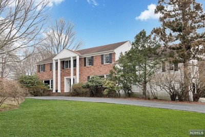 Norwood NJ Single Family Home For Sale: $725,000