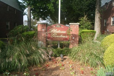 Fort Lee NJ Condo/Townhouse For Sale: $85,000