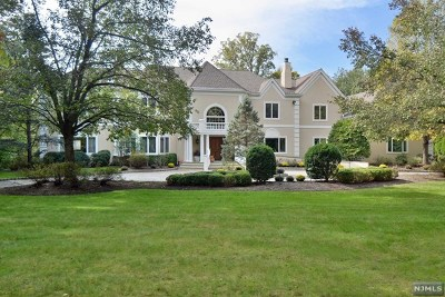 Saddle River Single Family Home For Sale: 5 Burning Hollow Road