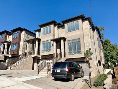Fort Lee Condo/Townhouse For Sale: 379 Wilson Avenue #B