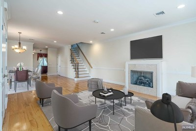 Palisades Park Condo/Townhouse For Sale: 125a Henry Street #A
