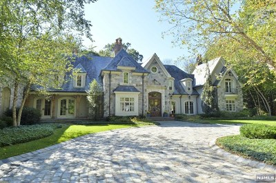 Saddle River NJ Single Family Home For Sale: $6,250,000