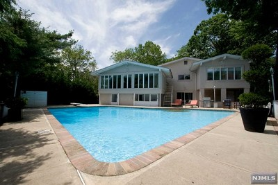 Englewood Cliffs Single Family Home For Sale: 1 Snyder Road
