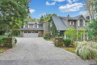 Saddle River Single Family Home For Sale: 14 Ackerman Road